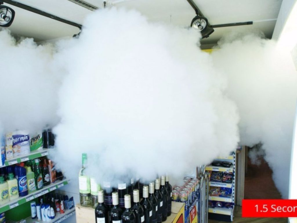 Fogging Security Systems